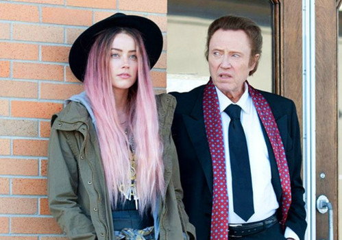 Amber Heard and Christopher Walken in One More Time