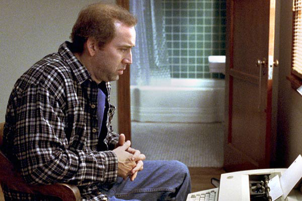 Nicholas Cage plays screenwriter Charlie Kaufman in Adaptation. Photo courtesy: Columbia Pictures