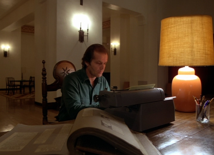 No one wants this to happen. Jack Nicholson plays a writer on the edge of sanity in Stephen King's The Shining. Photo courtesy: Warner Bros.