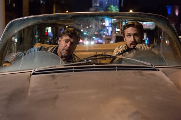 Russell Crowe and Ryan Gosling in The Nice Guys. Photo courtesy: Warner Bros.