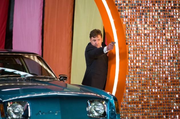 Russell Crowe in The Nice Guys. Photo credit: Warner Bros.