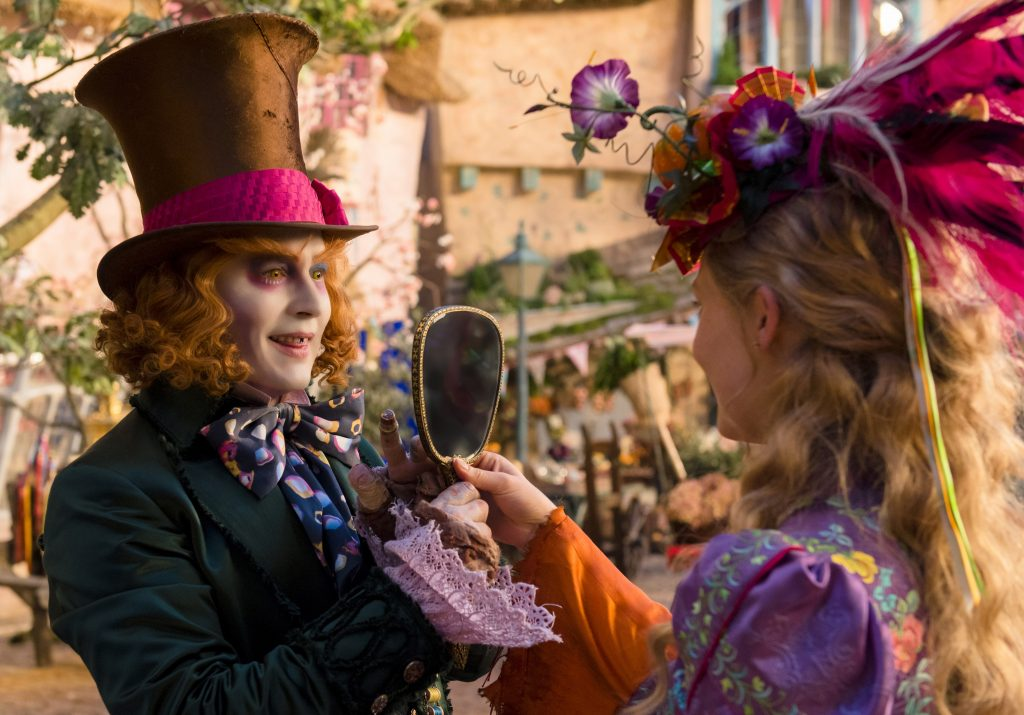 Johnny Depp plays The Hatter in Alice Through the Looking Glass. Photo courtesy: Disney Pictures