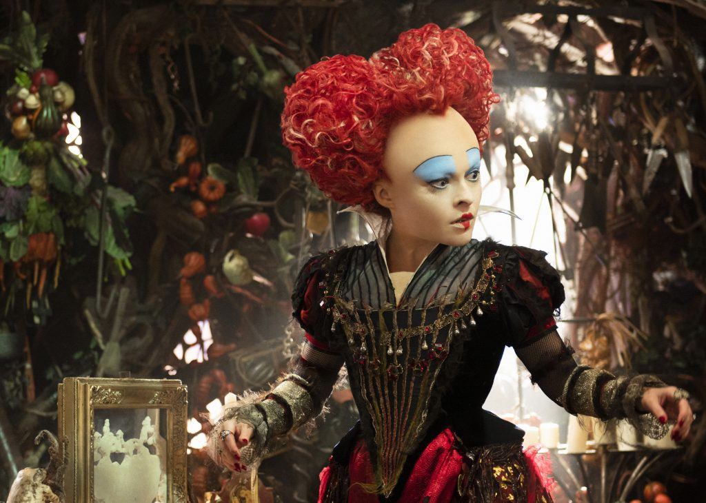 Helena Bonham Carter plays the Red Queen Alice Through the Looking Glass. Photo courtesy: Disney Pictures