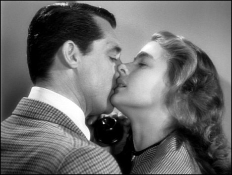 That kiss, though... Notorious (1946) Photo courtesy: RKO Pictures