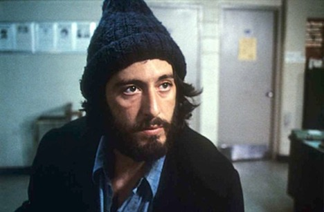 Al Pacino in Serpico (1973) Photo courtesy: Paramount Pictures