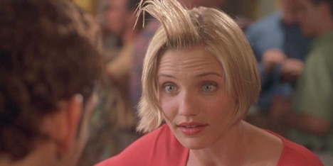 That one time with the hair... Something About Mary, 1998 Photo courtesy: 20th Century Fox