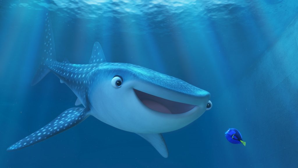 Finding Dory. Courtesy: Pixar Studios