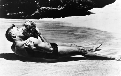 Oh, the romance. From Here To Eternity (1953) Photo courtesy: Columbia Pictures