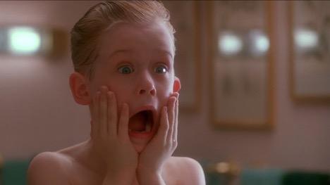 The horror. Home Alone, 1990 Photo courtesy: 20th Century Fox
