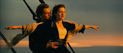 Will my heart go on? Yes, yes it will. Titanic, 1997 Photo courtesy: Paramount Pictures