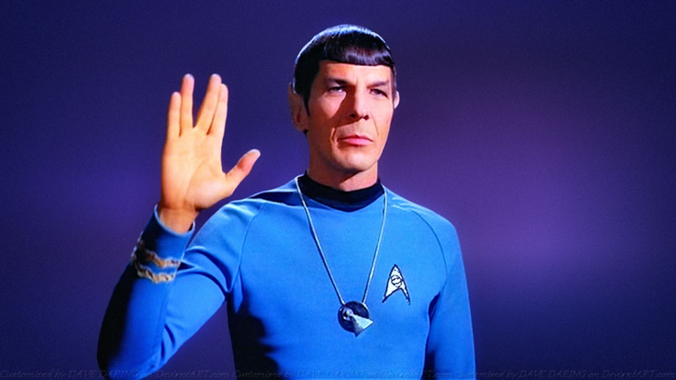 Write long and prosper, or something like that. Star Trek (The Original Series) Photo courtesy: CBS Studios