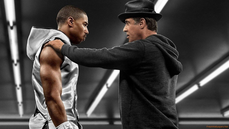 Keep your head in the game! Creed (2015) Photo courtesy: Warner Bros.