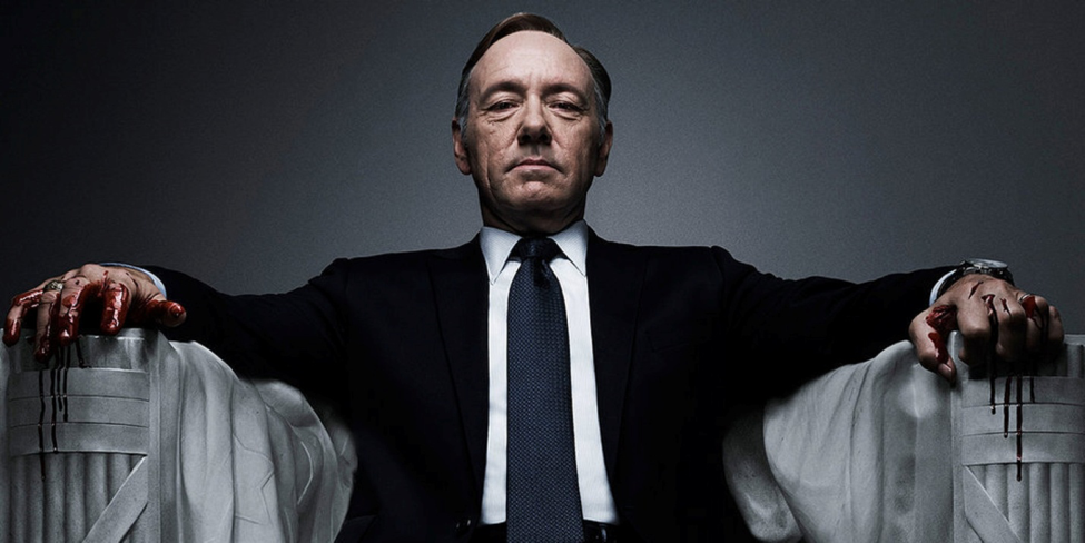 "Frank Underwood (played by Kevin Spacey) in ""House of Cards"" Photo courtesy: Netflix"