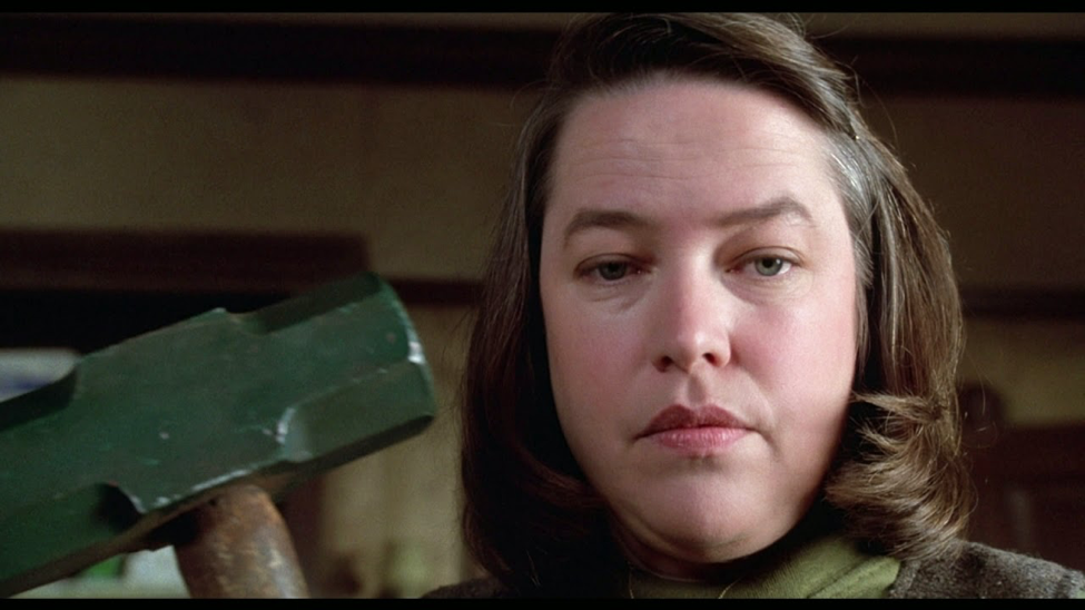 Kathy Bates is thrillingly horrible in Misery. Photo courtesy Columbia Pictures