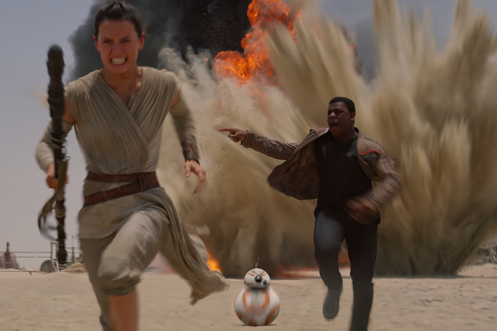Star Wars: The Force Awakens (2015) Photo courtesy:
