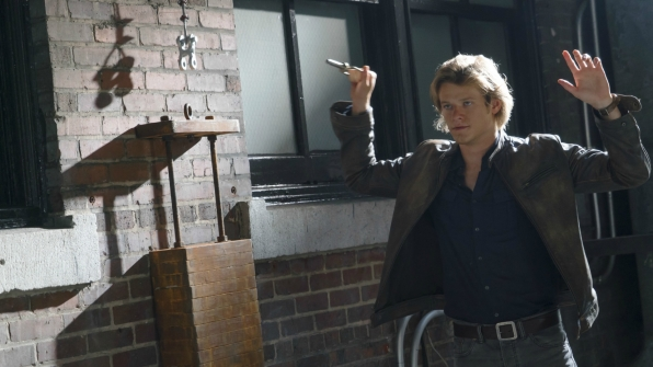 Lucas Till as the new MacGyver. Photo courtesy: CBS