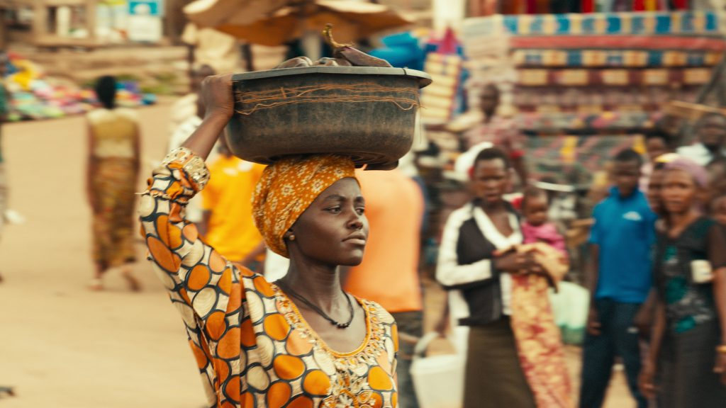 Lupita Nyong'o is Harriet Mutesi in Queen of Katwe. Photo courtesy: Disney Pictures