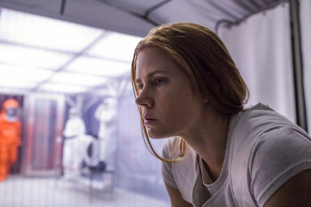 Amy Adams in Arrival. Photo courtesy: Paramount Pictures