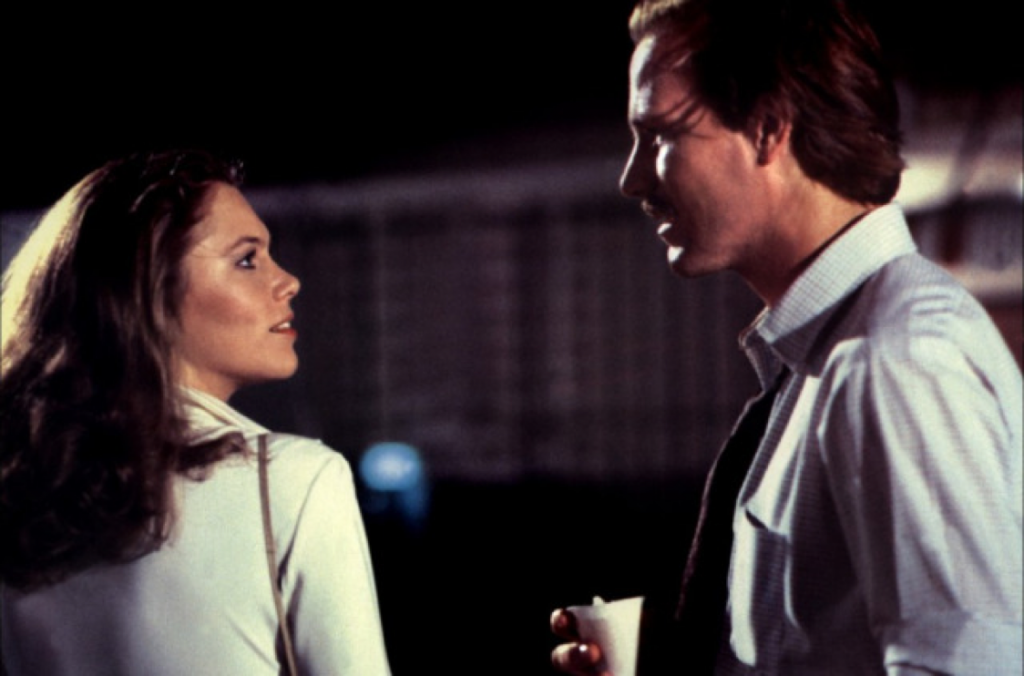 Kathleen Turner and William Hurt sizzle in Body Heat. Photo Courtesy of Warner Brothers.
