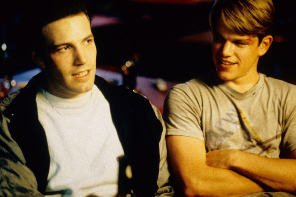 Ben Affleck and Matt Damon in Good Will Hunting. Photo courtesy: Miramax