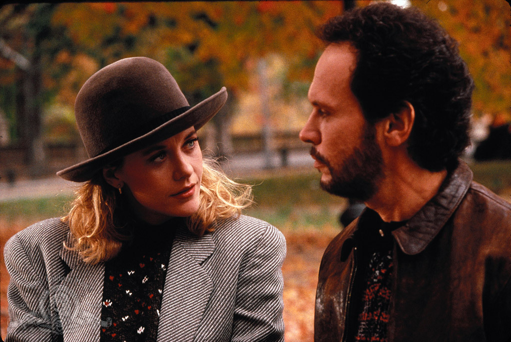 Meg Ryan and Billy Crystal in When Harry Met Sally. Photo courtesy: MGM