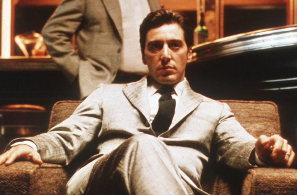 Al Pacino is The Godfather. Photo courtesy Paramount Pictures.