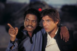 Lando and Han Solo