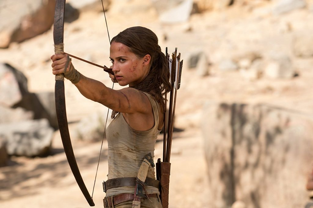 tomb raider writer on getting notes from alicia vikander